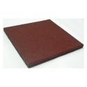 Loseta de Caucho Reciclado - Roja 50x50x2