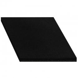 Loseta de Caucho Reciclado -Negra 50x50x2