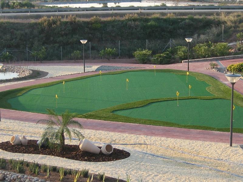 Ejemplo de Putting Green en Jardín