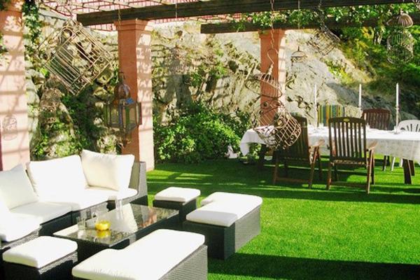 C sped artificial para jardines y patios - Fotos de cesped artificial ...