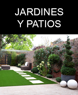 jardines y patios csped artificial