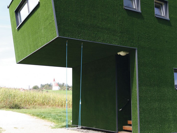 wall artificial grass