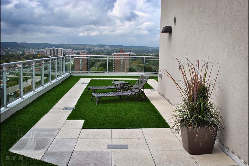 drenaje césped artificial en terrazas